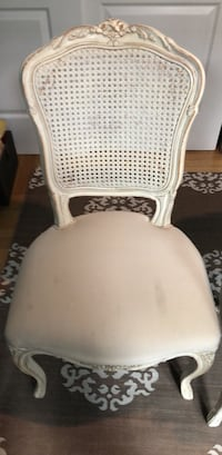 white and gray wooden armchair New York, 10024