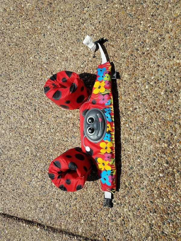 Lady Bug Floatie holds 30-50 lbs