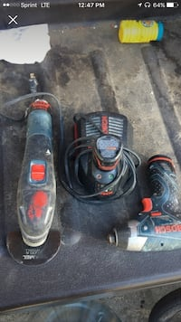 black and red corded power tool Beverly Hills, 90210