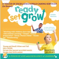 Safe Childcare Services Baton Rouge, 70806