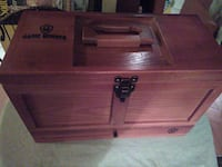 brown wooden chest storage San Antonio, 78240