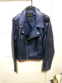 Forever 21 + plus sizes leather jacket $150.00 best offer  Edmonton, T5H 0T2