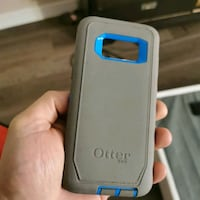 S8 grey/blue OtterBox defender  Chilliwack, V2P 2P7