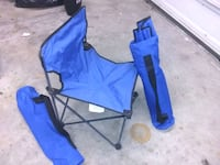 blue and black camping chair Poquoson, 23662