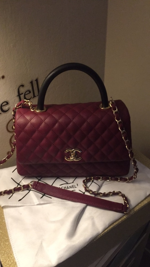 ba5caf7c72b Used women's red Chanel leather sling bag for sale in Redwood City ...