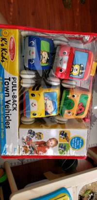 Pull back cars by Melissa and Doug