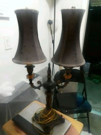 two black-and-white table lamps Miami, 33155