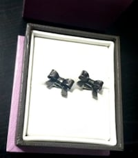 Well-Made Stainless Steel Sturdy Bow Earrings - Great Gift! Toronto