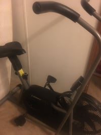 Black and gray stationary bike Kingsport, 37664