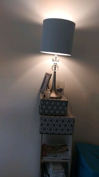 Silver Table Lamps ($40 for Both!!!)