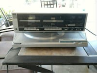 Sony double cassette player and turntable  Fresno