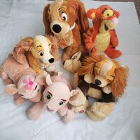 Lady & the Tramp, Tiger and Paw Patrol Plush Lot Hyattsville, 20785