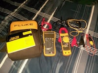 FLUKE multimeter and clamp meter combo Calexico, 92231
