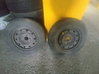GOODYEAR 215/70/15 WINTER TIRES WITH RIM.  Montréal, H3W 1K9