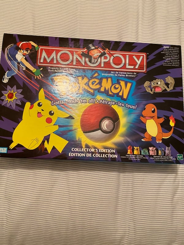 Pokeman Monopoly Board Game  0