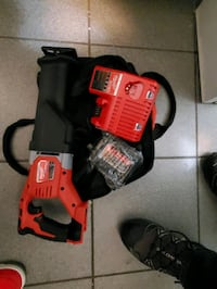 Milwaukee sawzall with charger and battery brand new