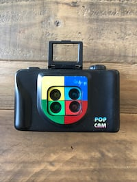 Pop Cam - 35mm film camera - shoots four photos in four colours in one shot TORONTO