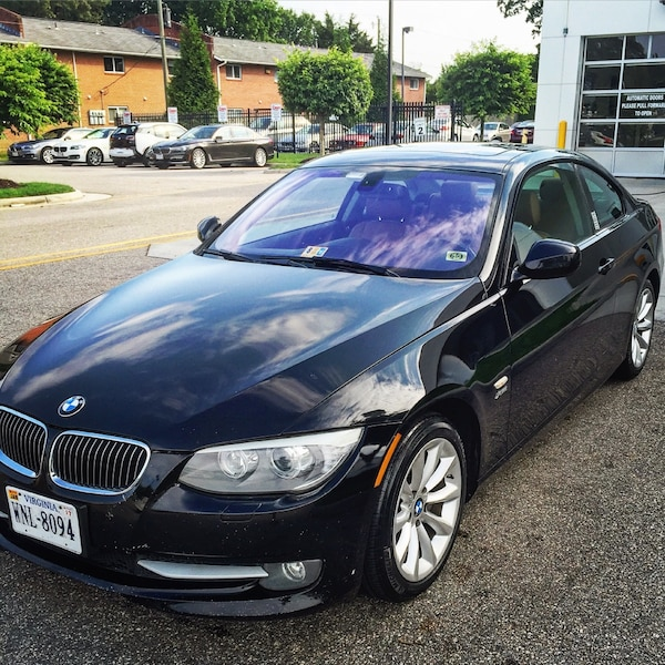 Used 2011 Black BMW 335i XDrive For Sale In Williamsburg