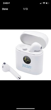 Atune Bluetooth Earbuds with Charger Case - brand new