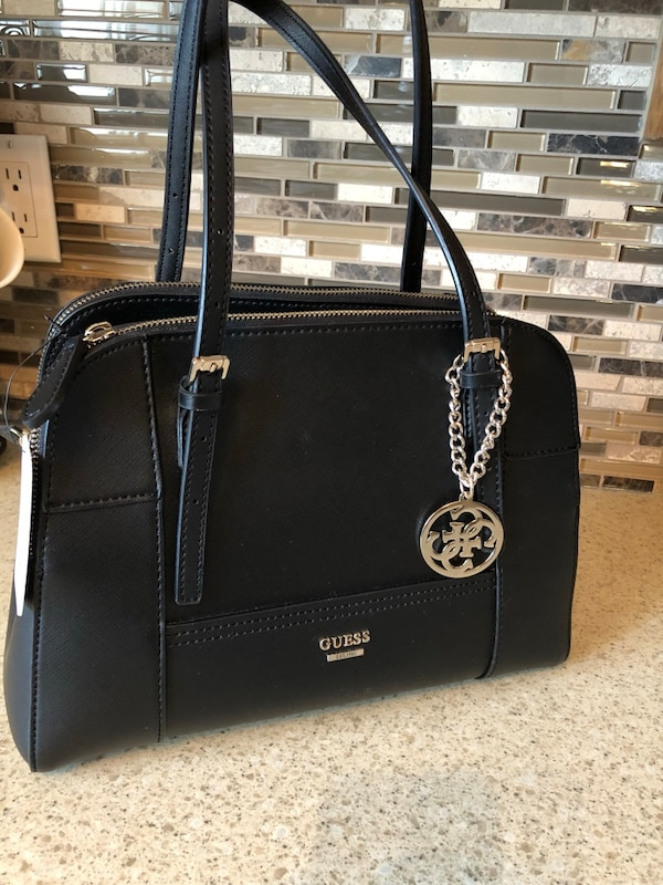 Black GUESS bag/purse