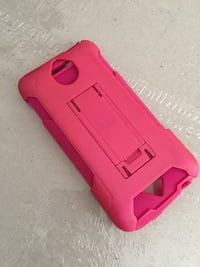 pink android smartphone case