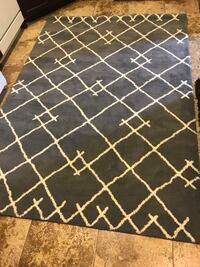 New 5ft x 7ft Area Rug grey Westminster, 92683
