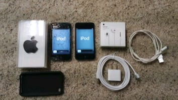 2 ipod 5 gen. 32Gb + 18 Gb × accessories