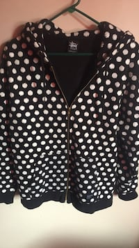 Poka Dot Stussy Zip up  Simcoe, N3Y 4R1