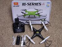 HS-Series RC quadcopter with box 44 mi