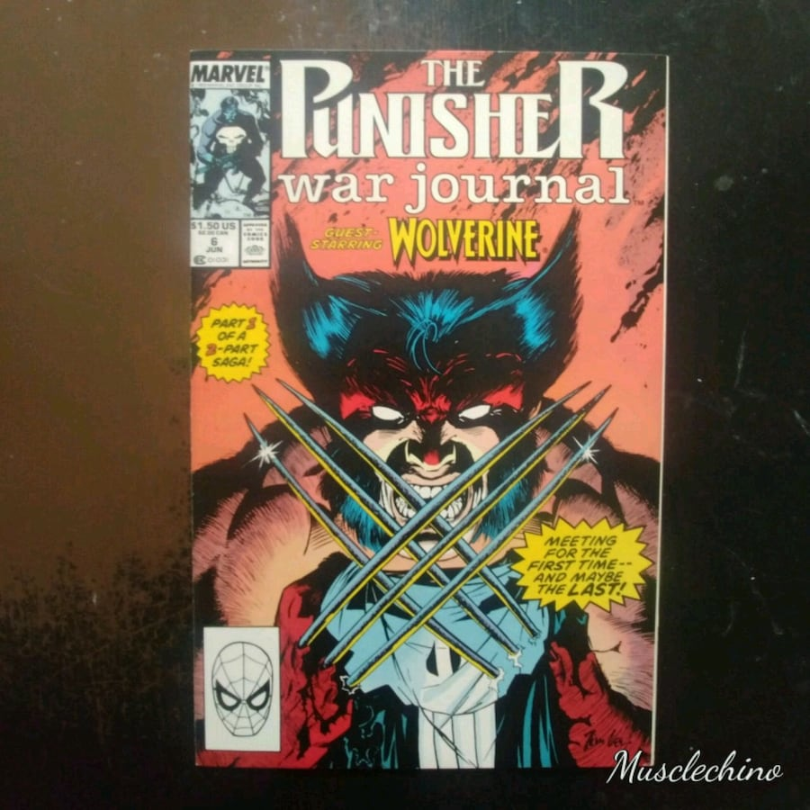 THE PUNISHER WAR JOURNAL #6 AND #7