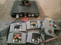 Like new n 64 with games 5 controller and cords Saint Paul, 55429