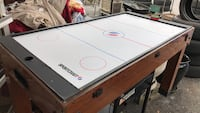 white and black air hockey table Phenix City, 36869