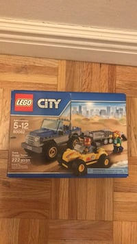 Lego City Dune Buggy Trailer set New York, 10128