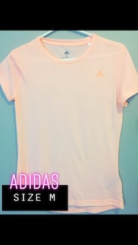 white and pink crew neck shirt Red Deer, T4R 1Y6