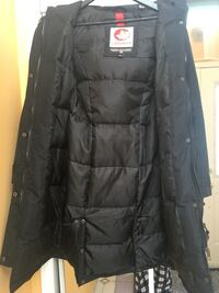 Goose Down Jacket- Black Mississauga