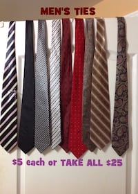 Men's Assorted Ties $5 each Toronto, M6G