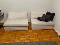 2 piece small sofa bed Arlington, 22201