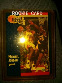 Basketball card.michael jordan fleer 91 Melbourne, 32904