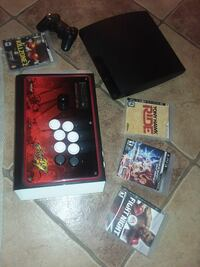 Ps3 with street fighter 4 joy stick  Coachella, 92236