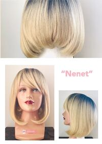 Very Pretty Ombre Blonde Wig!