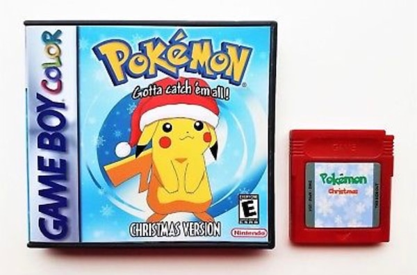 Pokemon Christmas.Nintendo Gbc Pokemon Christmas