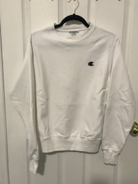 White Mens Champion Crewneck (S) Guelph