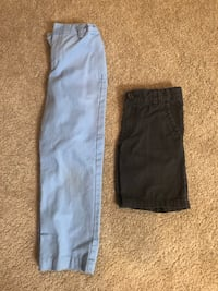 Size 6 pants and shorts