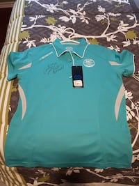 Catriona Lemay Doan autographed shirt