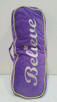Purple Pillow with Believe Words Henderson, 89074
