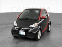 2015 smart fortwo electric drive coupe Hatchback Coupe 2D Red <br