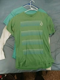 green and white crew neck shirt Brawley, 92227