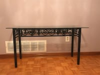 TV/Console table-glass top Vaughan, L4L 1H8