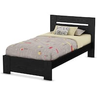 Southshore twin size bed brand new in box.    Elizabeth, 07201