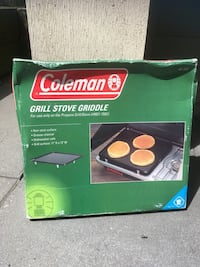 Coleman non-stick grill stove griddle Langley